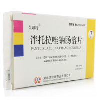久印特 泮托拉唑钠肠溶片 40mg*7片