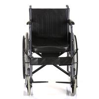 鱼跃轮椅车H058B型 可折叠轻便带坐便多功能带餐桌板轮椅车残疾人