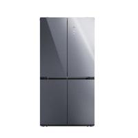 云米(VIOMI)冰箱iLive(十字四门502L)互联网智能冰箱 家用变频十字对开门双开门风冷无霜  BCD-502WGSA