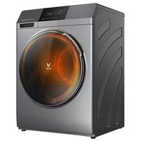 云米(VIOMI)互联网智能洗烘一体(8kg) 全自动家用滚筒变频洗衣机 中途添衣 APP控制 高温筒自洁 WD8S 型
