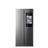 云米(VIOMI)互联网智能冰箱21FACE(对开门450L)AI语音控制 风冷无霜 变频对开门冰箱 BCD-450WMLA型