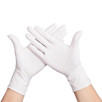 倍加舒 一次性检查手套  100只/盒 (M中号) 乳胶手套