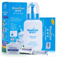 鼻可乐鼻腔清洗器 240ml+洗鼻盐3.5g*5袋